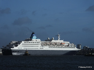 SAGA SAPPHIRE Departing Southampton PDM 07-01-2014 12-19-41