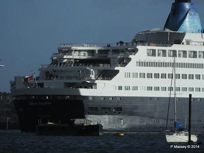SAGA SAPPHIRE Departing Southampton PDM 07-01-2014 12-24-15