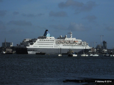 SAGA SAPPHIRE Departing Southampton PDM 07-01-2014 12-23-47