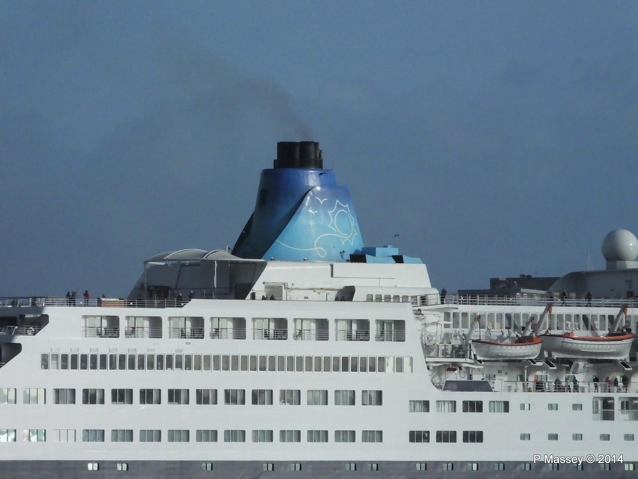 SAGA SAPPHIRE Departing Southampton PDM 07-01-2014 12-17-25