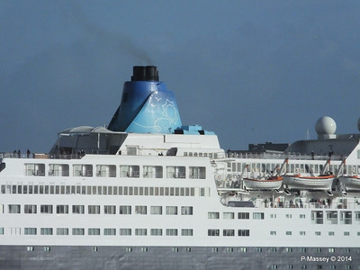 SAGA SAPPHIRE Departing Southampton PDM 07-01-2014 12-17-31