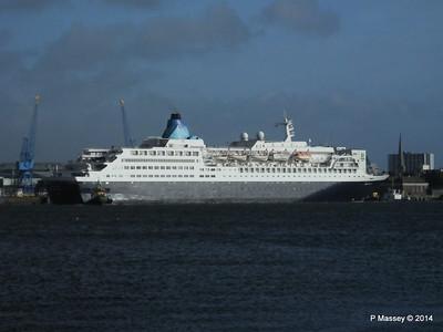 SAGA SAPPHIRE Departing Southampton PDM 07-01-2014 12-16-04