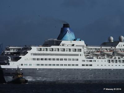 SAGA SAPPHIRE Departing Southampton PDM 07-01-2014 12-18-40