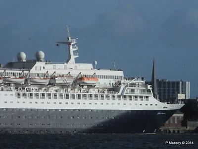 SAGA SAPPHIRE Departing Southampton PDM 07-01-2014 12-17-45