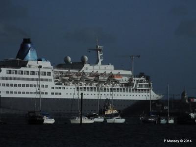 SAGA SAPPHIRE Departing Southampton PDM 07-01-2014 12-24-38