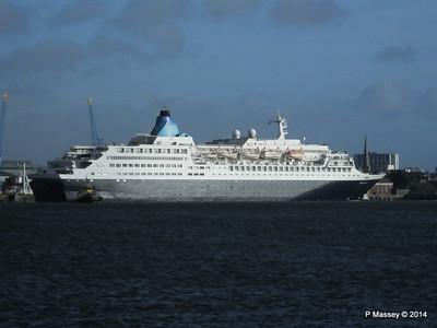 SAGA SAPPHIRE Departing Southampton PDM 07-01-2014 12-17-04
