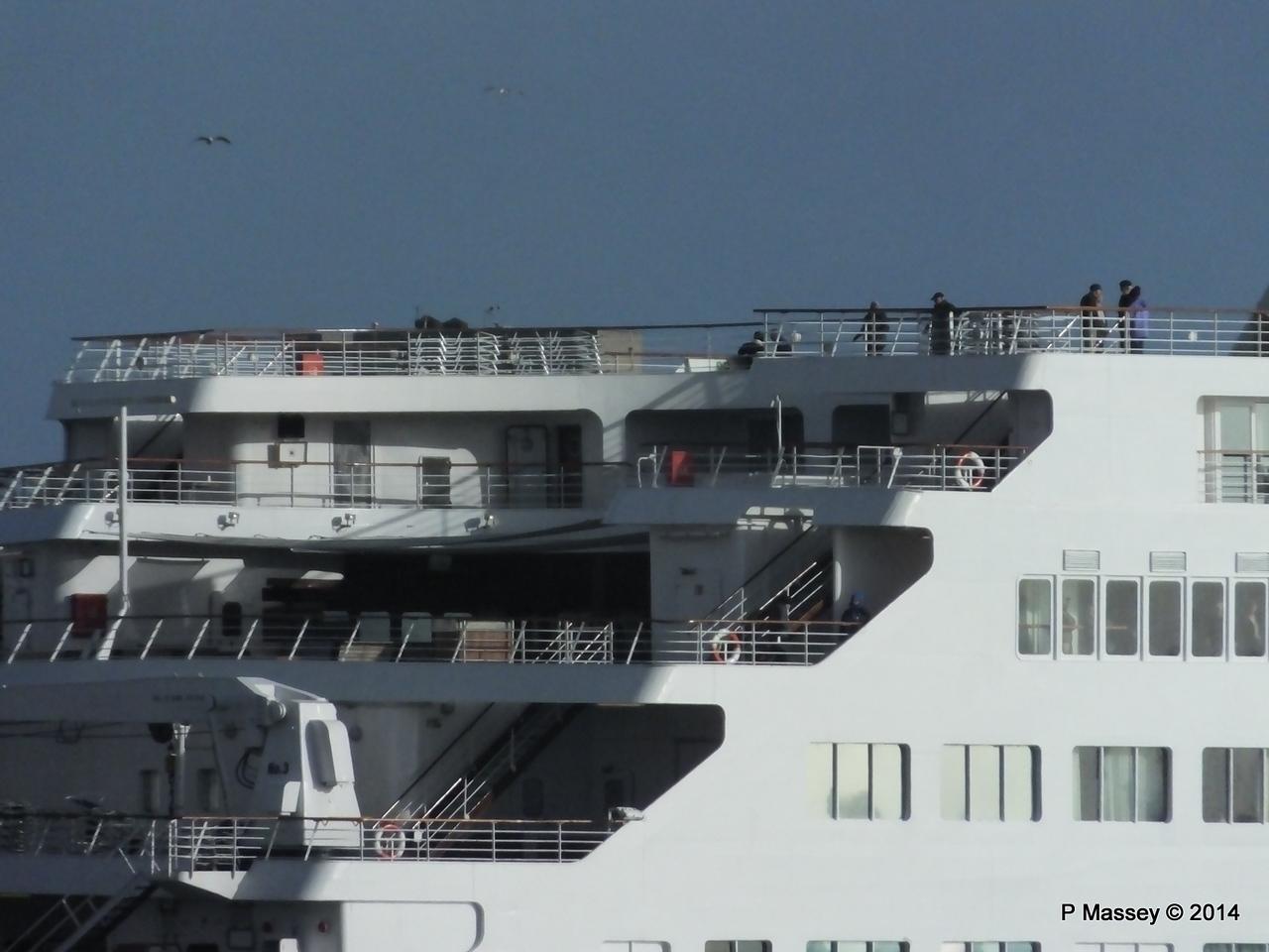 SAGA SAPPHIRE Departing Southampton PDM 07-01-2014 12-20-41