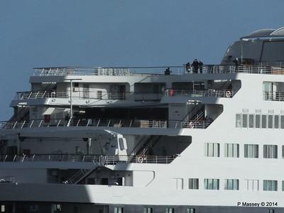 SAGA SAPPHIRE Departing Southampton PDM 07-01-2014 12-24-20