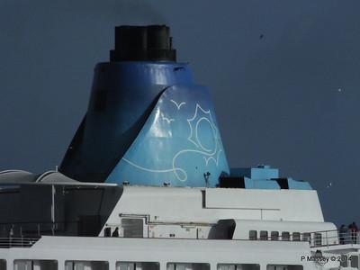 SAGA SAPPHIRE Departing Southampton PDM 07-01-2014 12-20-32