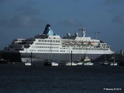 SAGA SAPPHIRE Departing Southampton PDM 07-01-2014 12-24-44