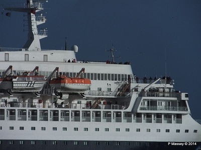 SAGA SAPPHIRE Departing Southampton PDM 07-01-2014 12-19-28