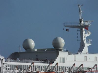 SAGA SAPPHIRE Departing Southampton PDM 07-01-2014 12-24-28