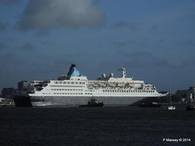 SAGA SAPPHIRE Departing Southampton PDM 07-01-2014 12-21-48
