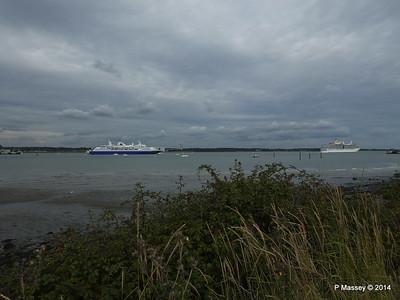 EXPLORER ARCADIA Departing Southampton PDM 24-08-2014 17-25-11