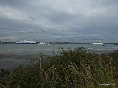 EXPLORER ARCADIA Departing Southampton PDM 24-08-2014 17-24-55