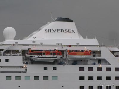 SILVER CLOUD Departing Southampton PDM 20-07-2011 21-05-49