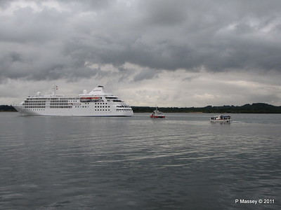 GREAT EXPRECTATIONS Alison MacGregor SILVER CLOUD Departing Southampton PDM 20-07-2011 21-07-09