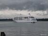 Alison MacGregor SILVER CLOUD Departing Southampton PDM 20-07-2011 21-08-10