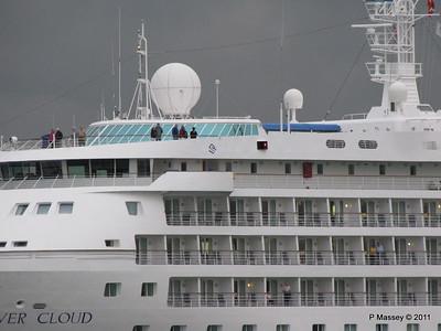 SILVER CLOUD Departing Southampton PDM 20-07-2011 21-03-38