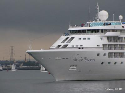 SILVER CLOUD Departing Southampton PDM 20-07-2011 21-02-48