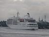 Alison MacGregor SILVER CLOUD Departing Southampton PDM 20-07-2011 21-11-16