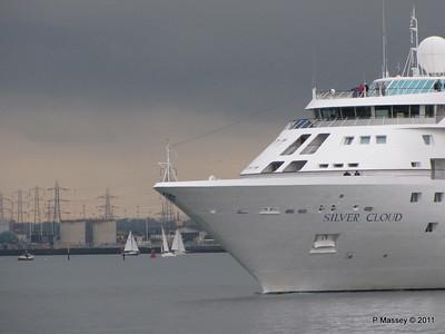 SILVER CLOUD Departing Southampton PDM 20-07-2011 21-02-51