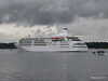Alison MacGregor SILVER CLOUD Departing Southampton PDM 20-07-2011 21-07-45