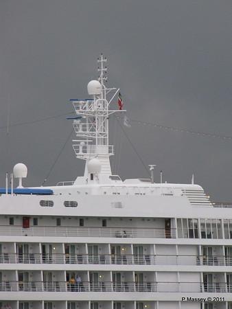 SILVER CLOUD Departing Southampton PDM 20-07-2011 21-03-45