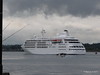Alison MacGregor SILVER CLOUD Departing Southampton PDM 20-07-2011 21-08-33