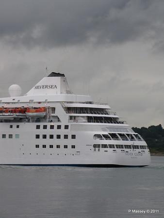 SILVER CLOUD Departing Southampton PDM 20-07-2011 21-07-29