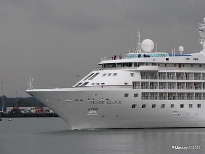 SILVER CLOUD Departing Southampton PDM 20-07-2011 21-04-44