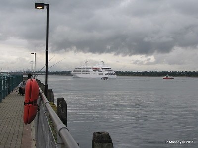 GREAT EXPRECTATIONS Alison MacGregor SILVER CLOUD Departing Southampton PDM 20-07-2011 21-08-21