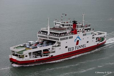 RED OSPREY Passing Southampton PDM 13-07-2016 17-41-17