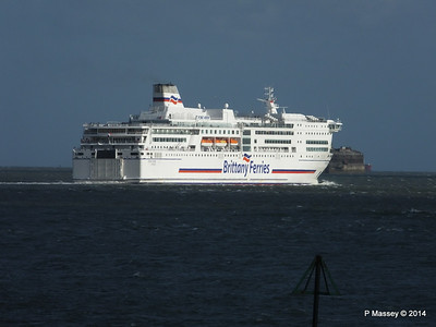 12 Aug 2014 PONT-AVEN Departing Portsmouth