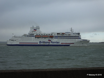 15 Jan 2015 NORMANDIE Inbound Portsmouth