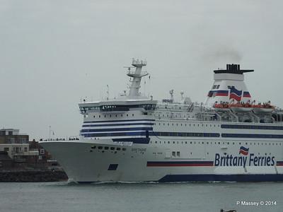BRETAGNE Arriving Portsmouth PDM 31-05-2014 17-57-37