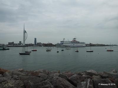 BRETAGNE Arriving Portsmouth PDM 31-05-2014 17-58-18