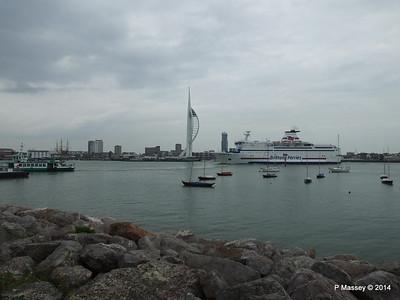 BRETAGNE Arriving Portsmouth PDM 31-05-2014 17-58-36
