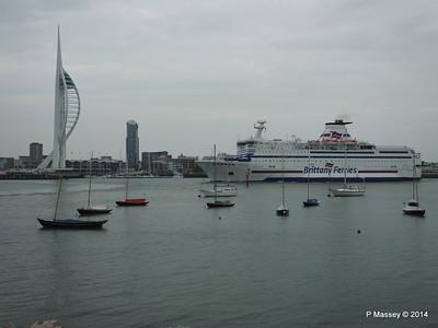 BRETAGNE Arriving Portsmouth PDM 31-05-2014 17-58-26