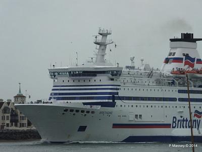 BRETAGNE Arriving Portsmouth PDM 31-05-2014 17-57-30