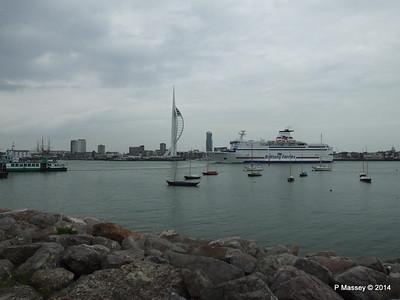 BRETAGNE Arriving Portsmouth PDM 31-05-2014 17-58-34