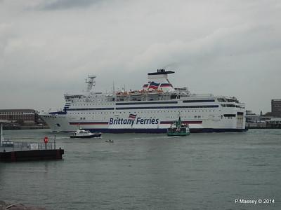 BRETAGNE Arriving Portsmouth PDM 31-05-2014 17-59-26