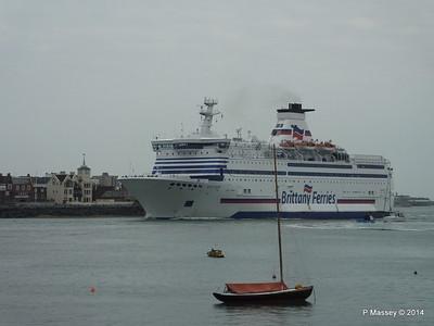 BRETAGNE Arriving Portsmouth PDM 31-05-2014 17-57-25