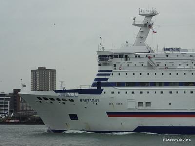 BRETAGNE Arriving Portsmouth PDM 31-05-2014 17-59-00