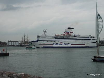 BRETAGNE Arriving Portsmouth PDM 31-05-2014 17-59-12