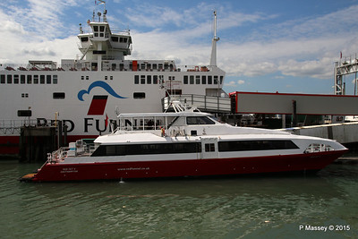 RED JET 5 RED EAGLE Town Quay Southampton PDM 13-05-2015 14-37-20