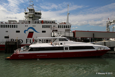 RED JET 5 RED EAGLE Town Quay Southampton PDM 13-05-2015 14-37-22