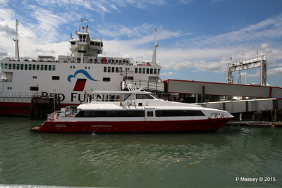 RED JET 5 RED EAGLE Town Quay Southampton PDM 13-05-2015 14-37-09