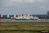 RED FALCON READ EAGLE Passing Southampton Water PDM 17-06-2016 12-19-13