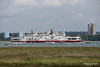 RED FALCON READ EAGLE Passing Southampton Water PDM 17-06-2016 12-19-017